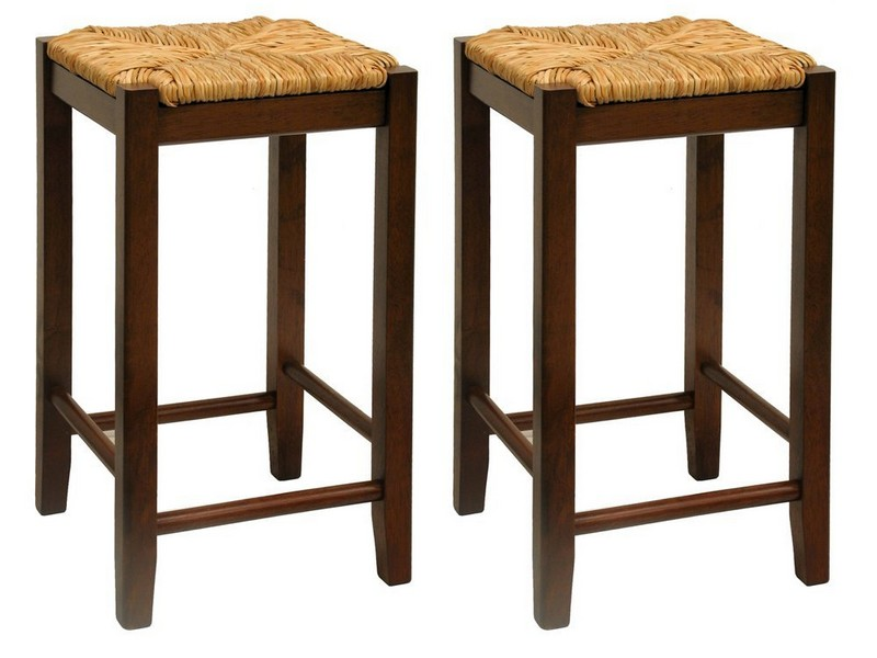 18 Inch Wooden Stools