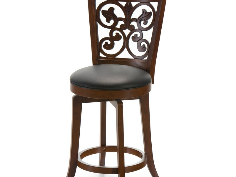 24 Inch Bar Stools With Backs That Swivel