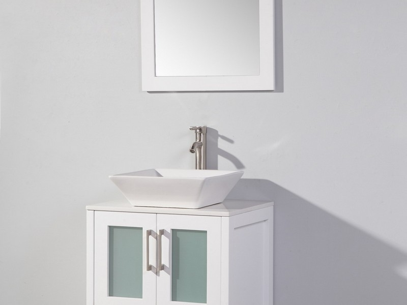 24 Inch Bathroom Vanity White