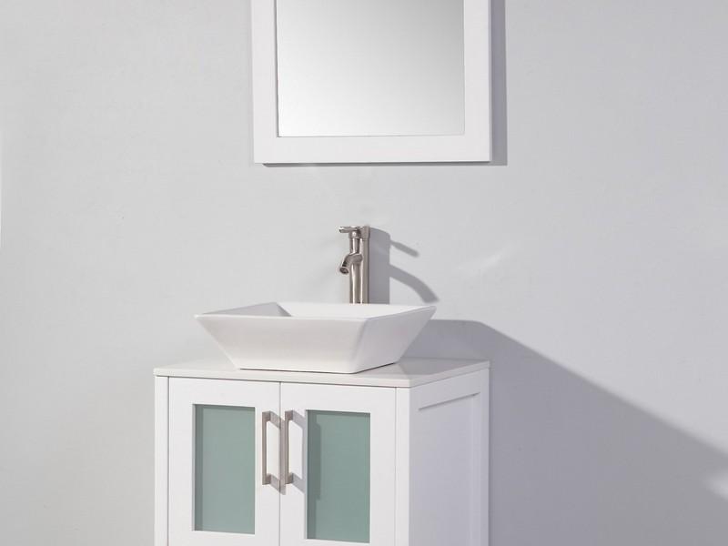 24 Inch Bathroom Vanity White