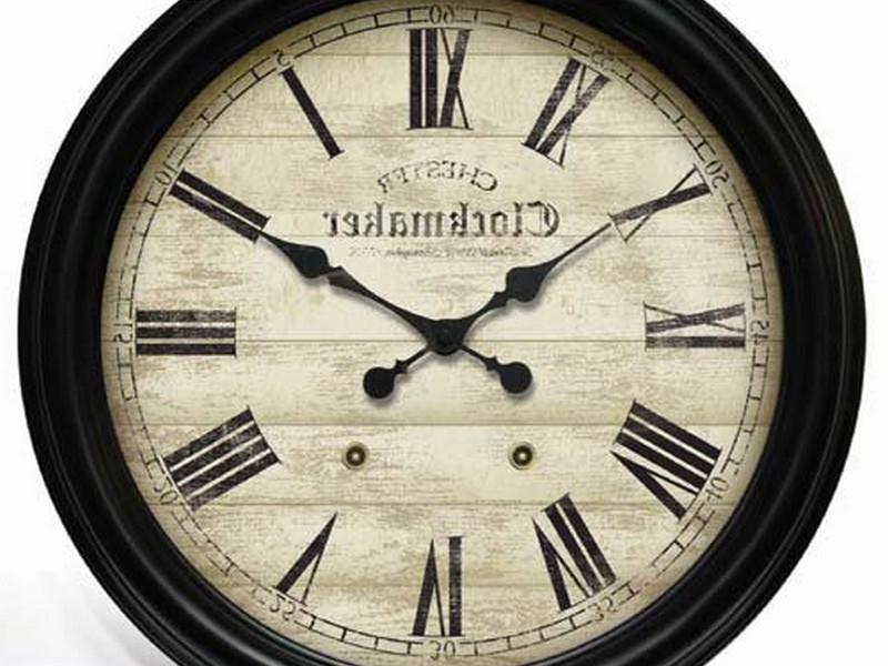 24 Inch Wall Clock