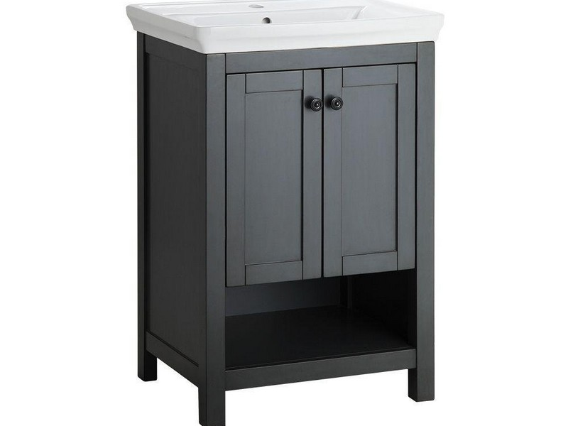 26 Inch Bathroom Vanity Base