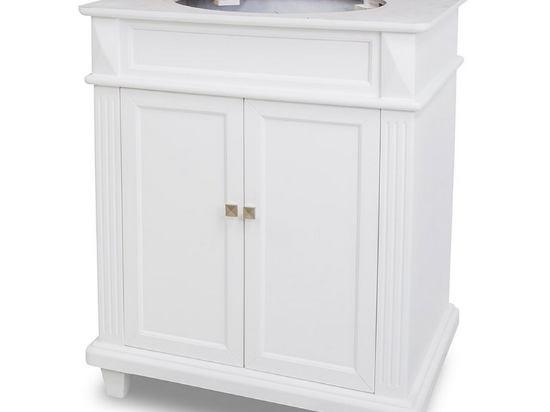 28 Inch Bathroom Vanity White