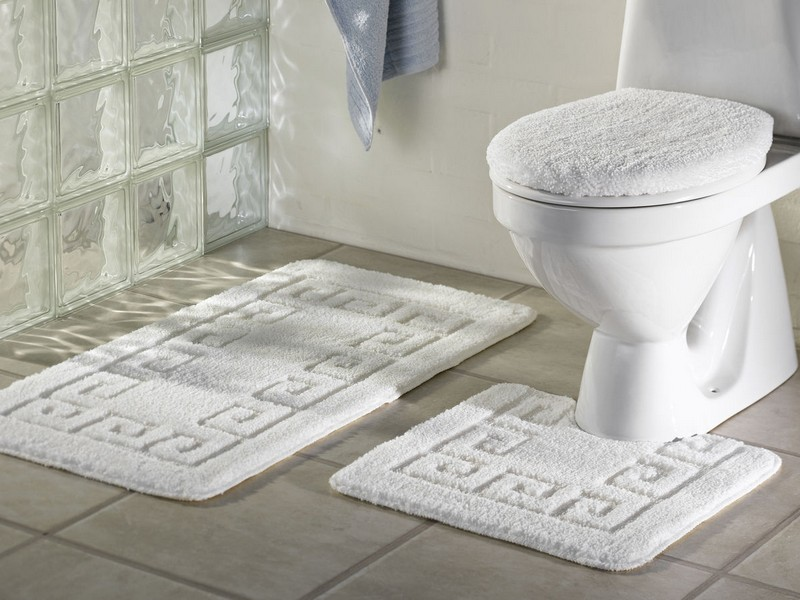 3 Piece Bathroom Mat Sets