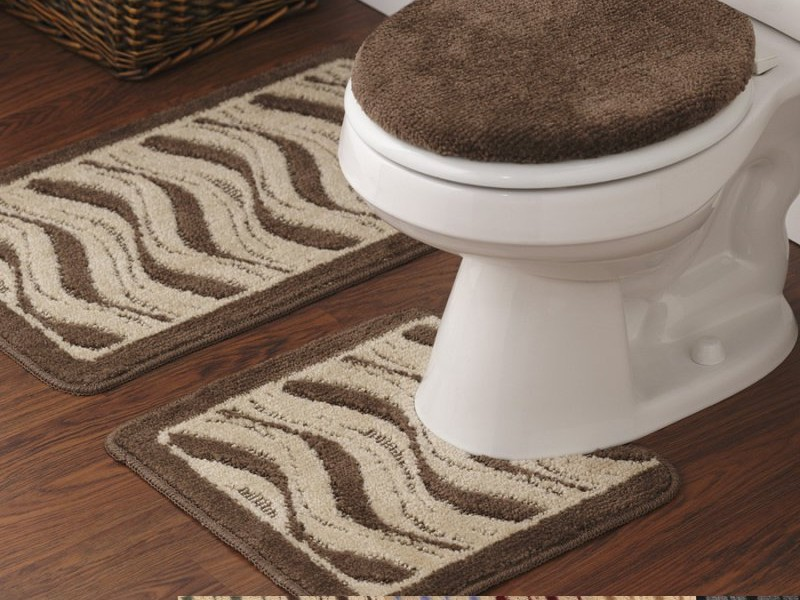 3 Piece Bathroom Rug Set Target