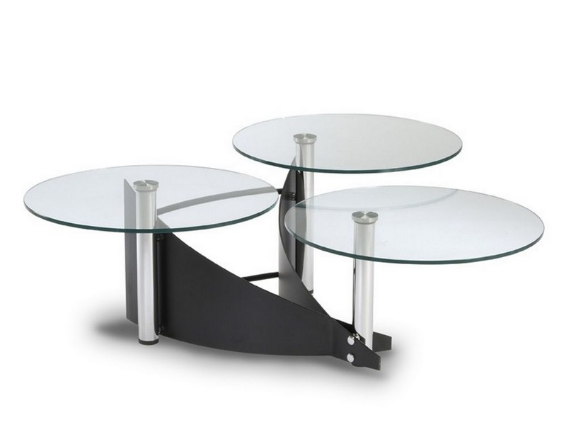 3 Tier Swivel Coffee Table