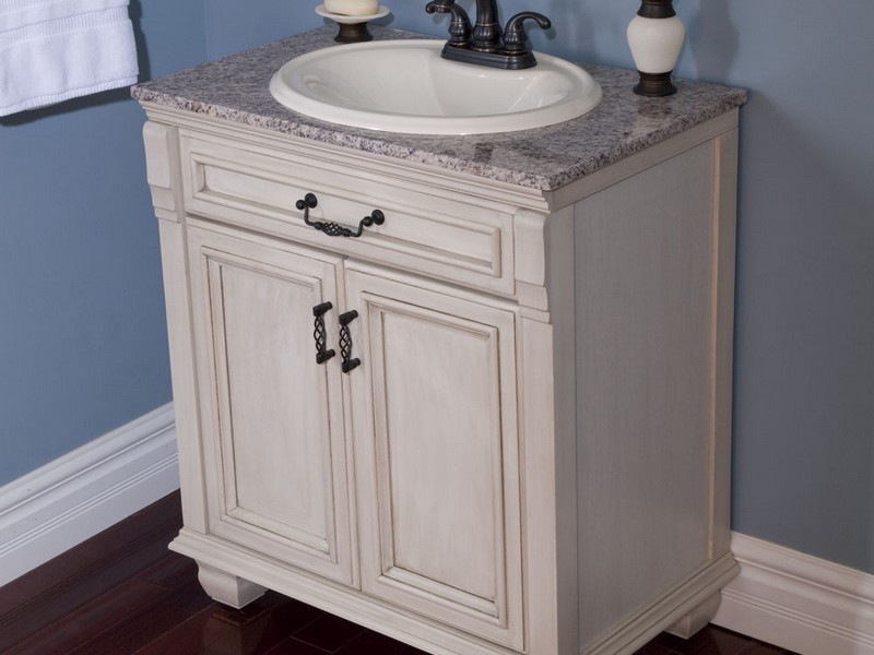 30 Antique White Bathroom Vanity