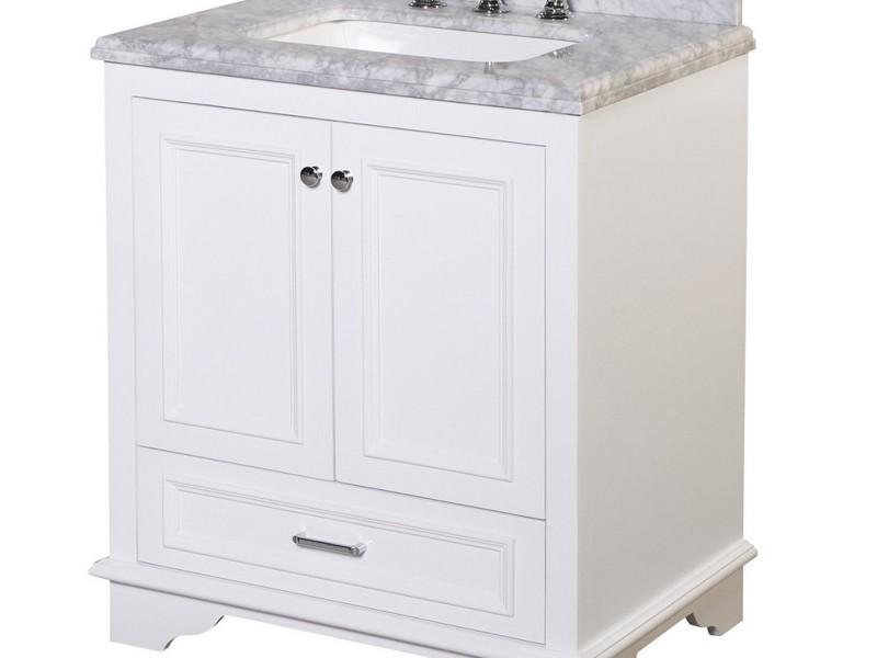 30 Inch Bathroom Vanity Cabinet White