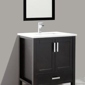30 Inch Espresso Bathroom Vanity