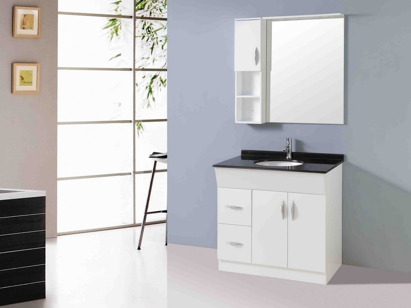 30 Inch Mirrored Bathroom Vanity