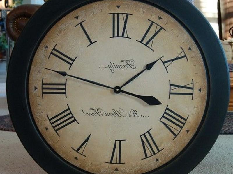 30 Inch Wall Clock