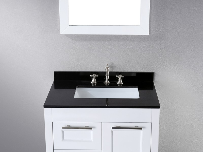30 Inch White Bathroom Vanity Without Top