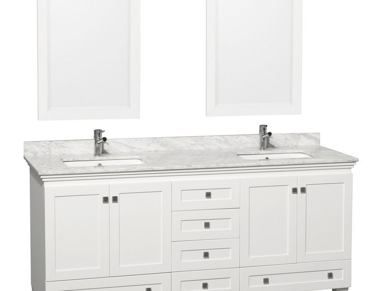 32 Inch Bathroom Vanity White