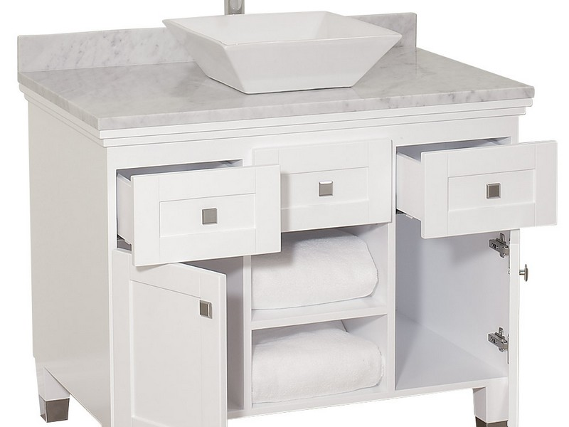 36 Bathroom Vanities Without Tops