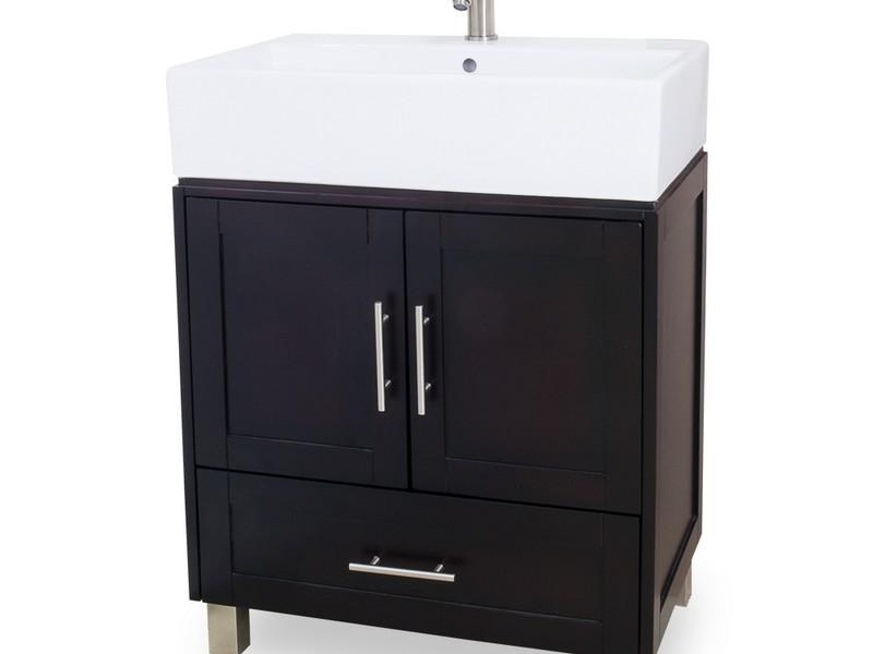 36 Black Bathroom Vanity