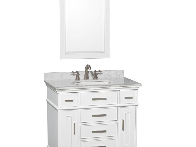 36 In Bathroom Vanity With Drawers