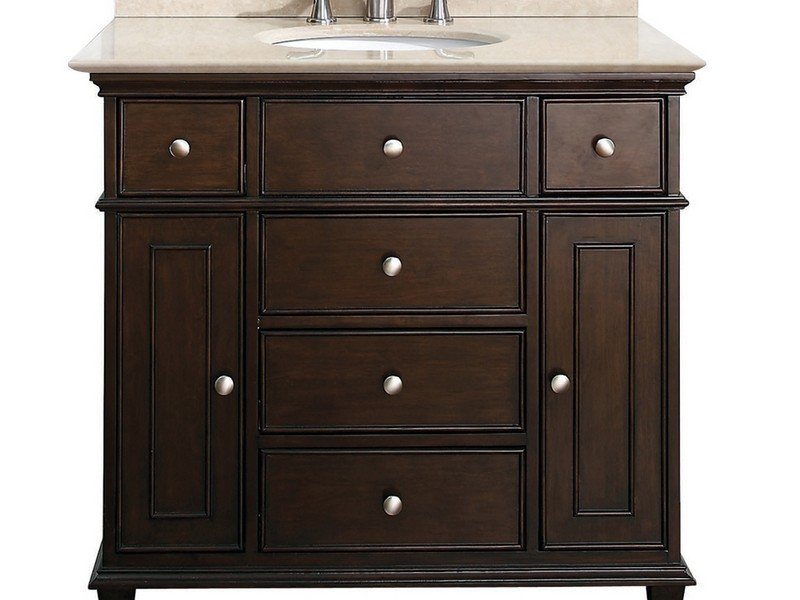 36 Inch Bathroom Vanities With Top