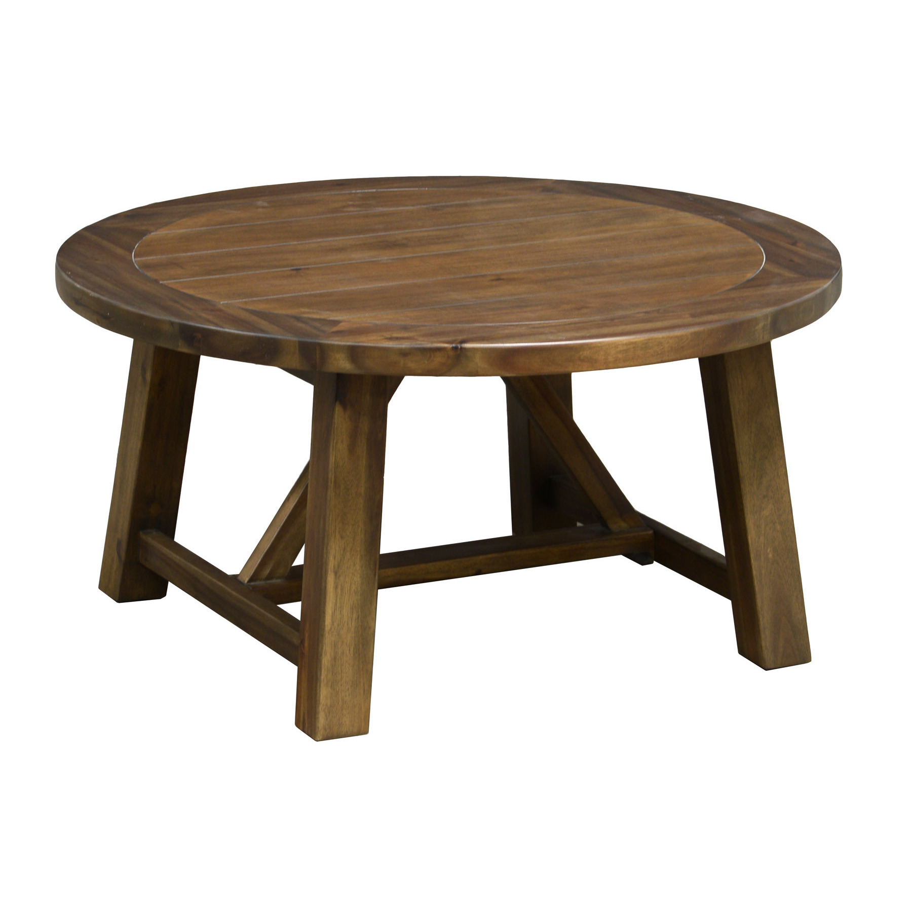 36 Round Coffee Table Wood
