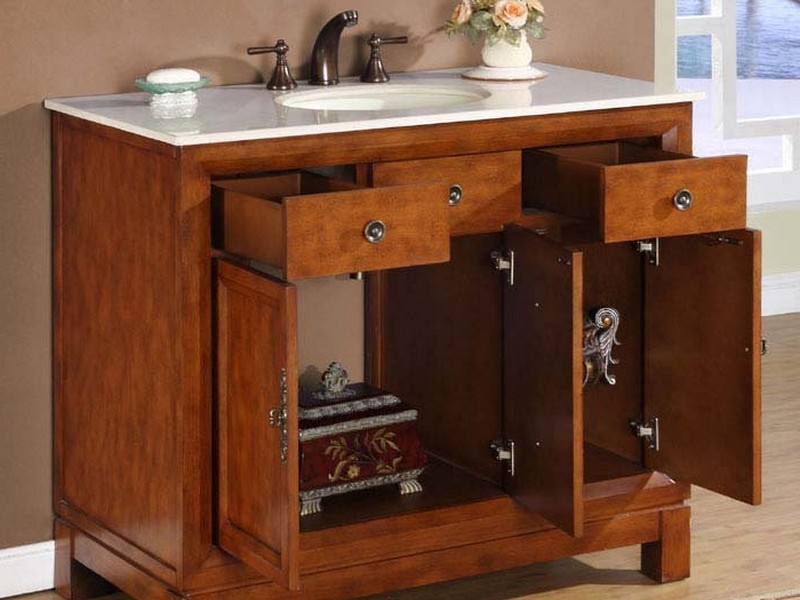 42 In Bathroom Vanity Cabinet