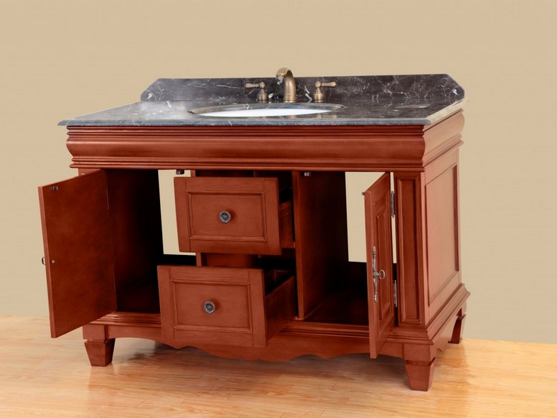 42 Inch Bathroom Vanity With Drawers