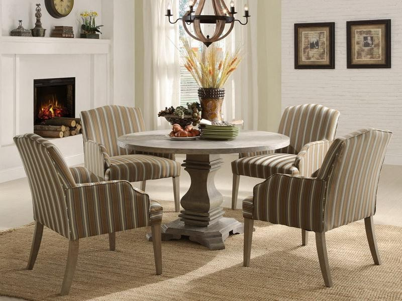 42 Inch Round Dining Table Set
