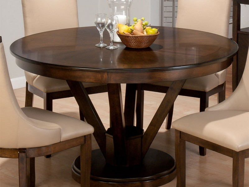 42 Inch Round Dining Table With Leaves