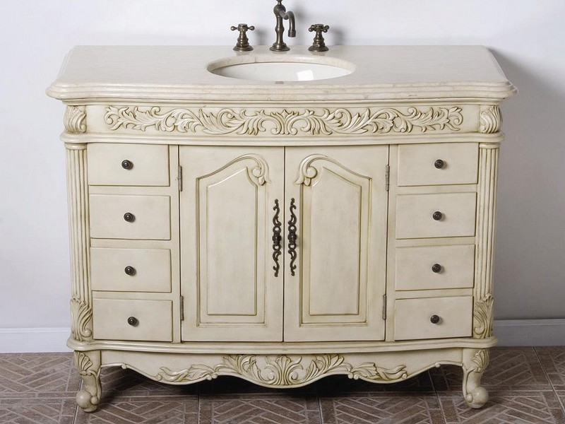 46 Bathroom Vanity Cabinets