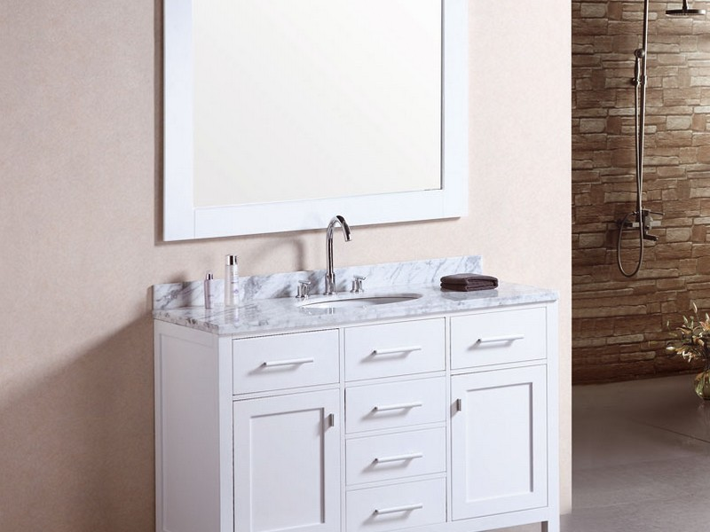 48 Bathroom Vanity With Top And Sink