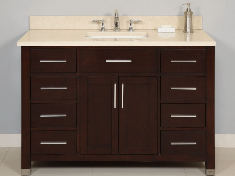 48 Inch Bathroom Vanity With Top And Sink