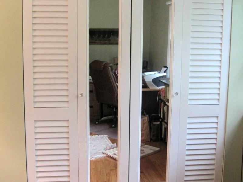 48 Inch Mirror Bifold Closet Doors
