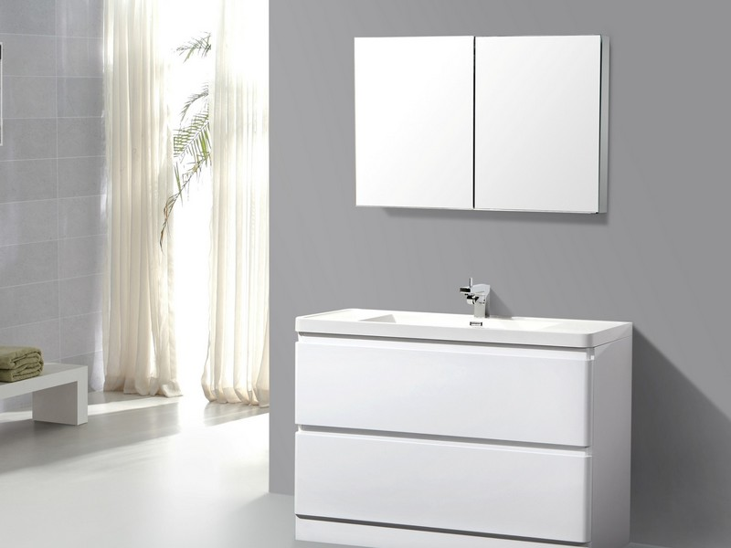 48 White Bathroom Vanity Canada