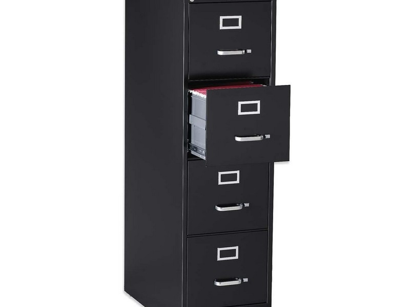 5 Drawer Filing Cabinet With Lock