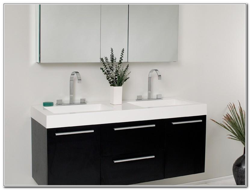 54 Inch Bathroom Vanity Cabinet