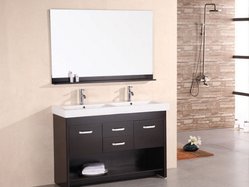 58 Inch Bathroom Vanity Double Sink