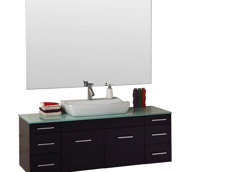59 Inch Bathroom Vanity Single Sink