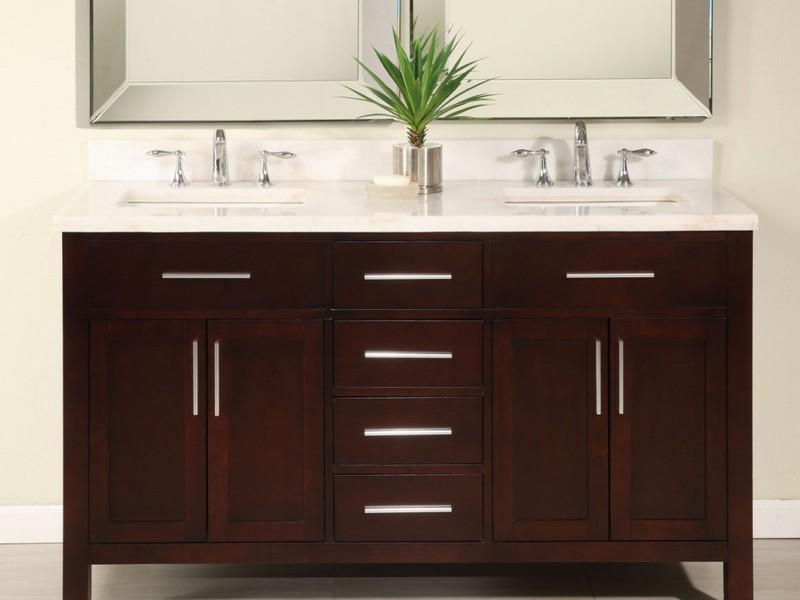 60 Inch Bathroom Vanities Double Sink