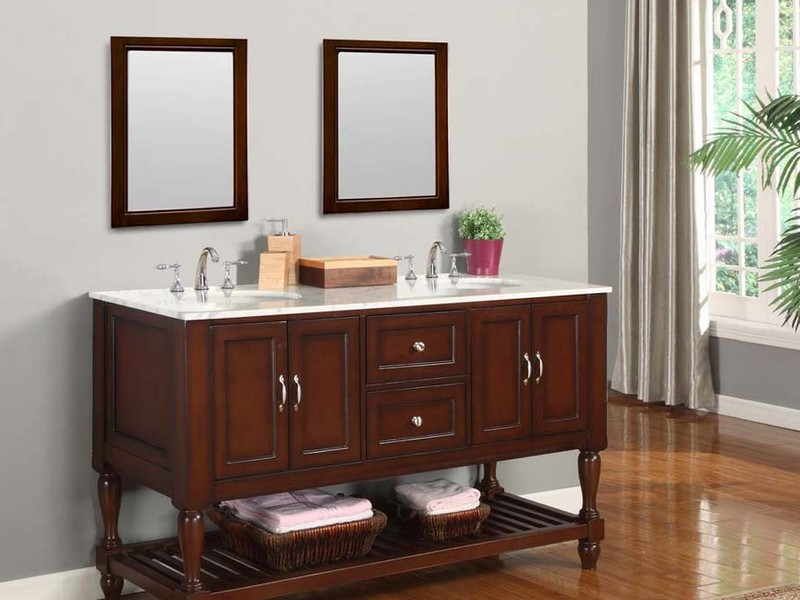 60 Inch Bathroom Vanity Base