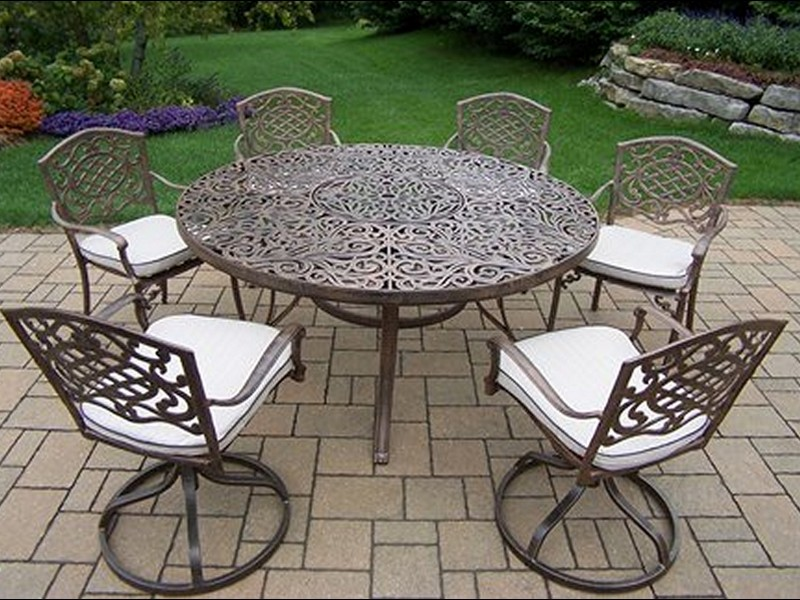 60 Inch Round Patio Table Sets