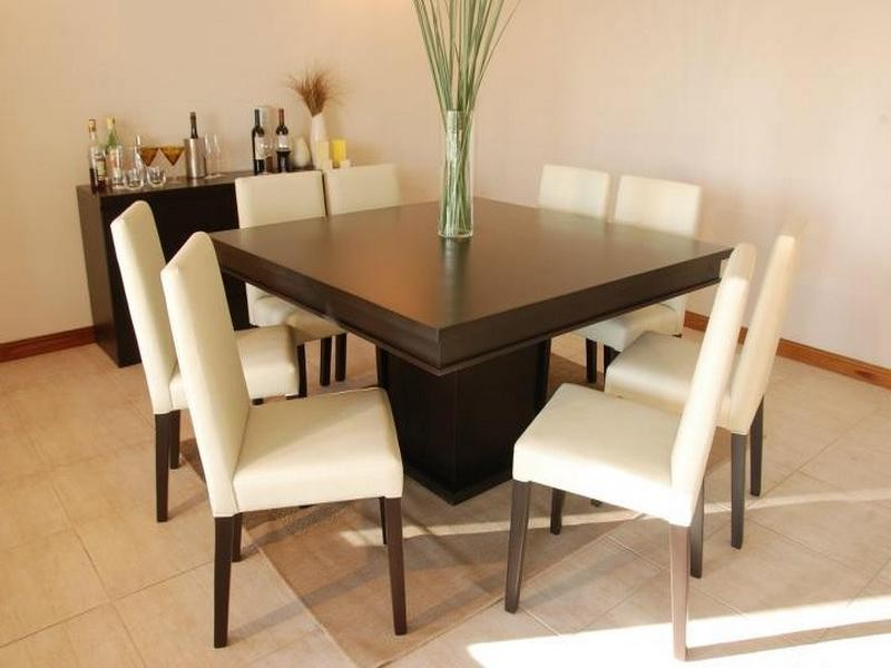 60 Square Dining Table Seats 8 Home Design Ideas