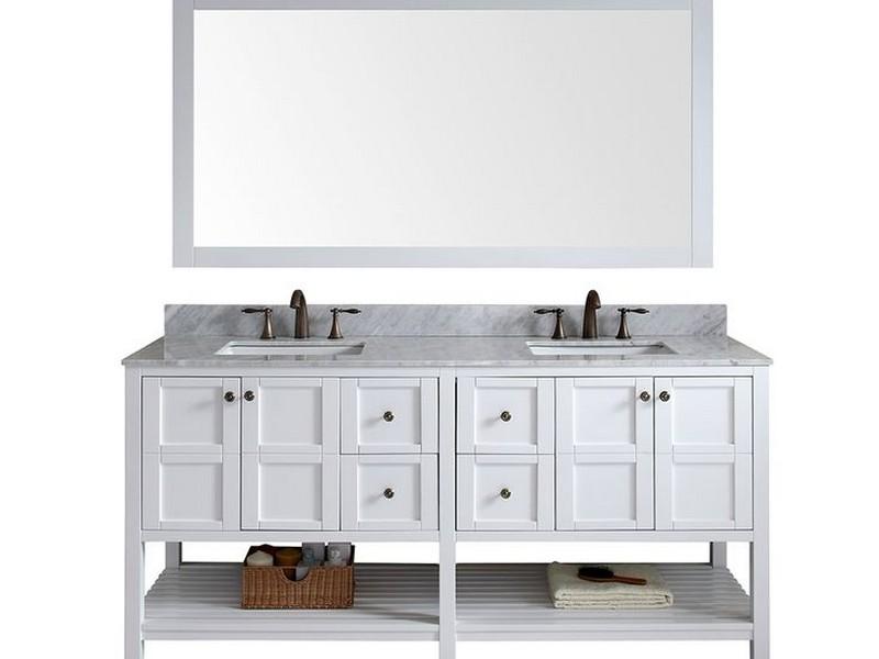 72 Inch Bathroom Vanity White