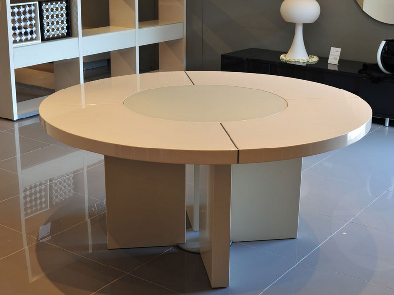 72 Round Dining Table With Lazy Susan