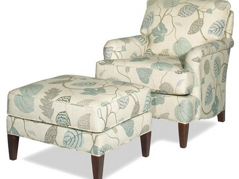 Accent Chairs With Ottoman