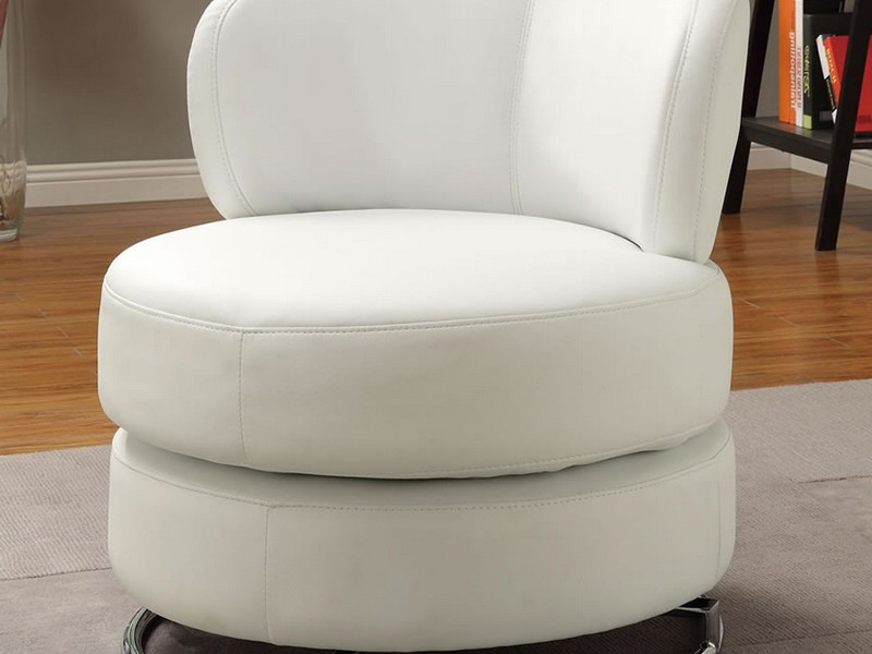 Accent Swivel Chairs With Arms