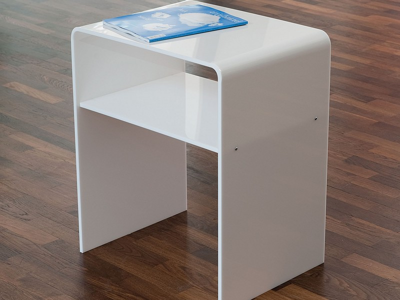 Acrylic Accent Table