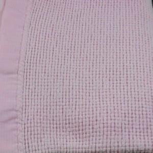 Acrylic Blanket With Satin Trim