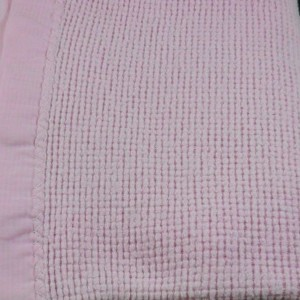 Acrylic Thermal Blanket With Satin Trim