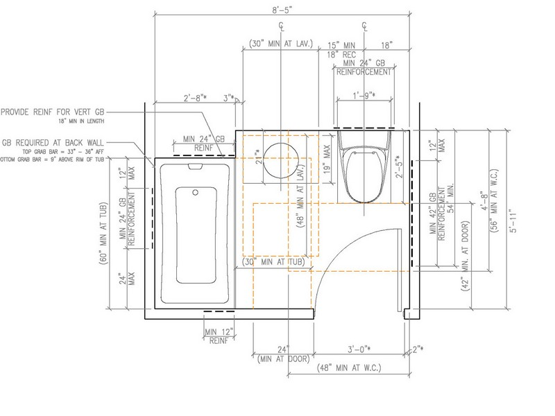 Ada Bathroom Layout 2014