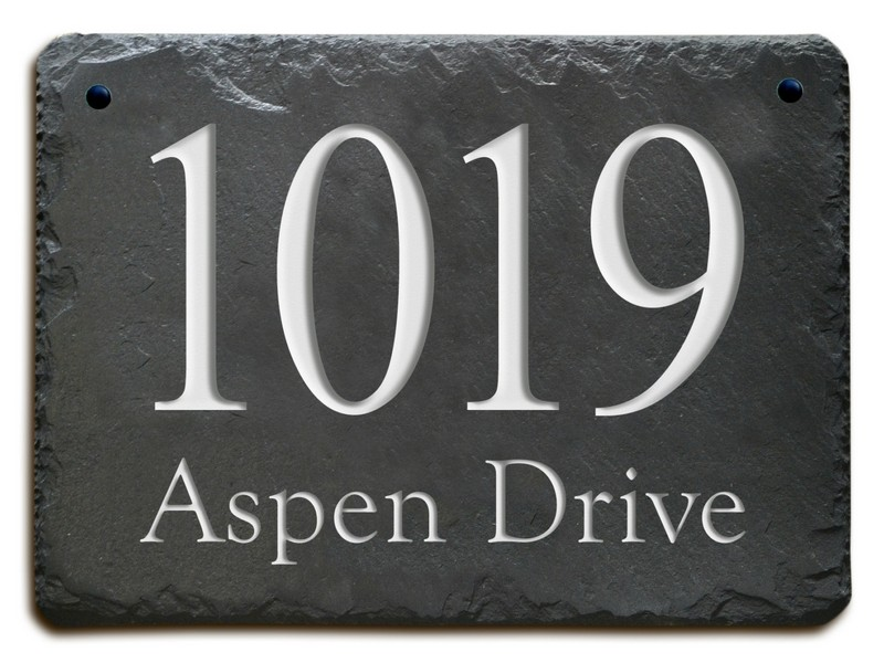 Address Plaques For House