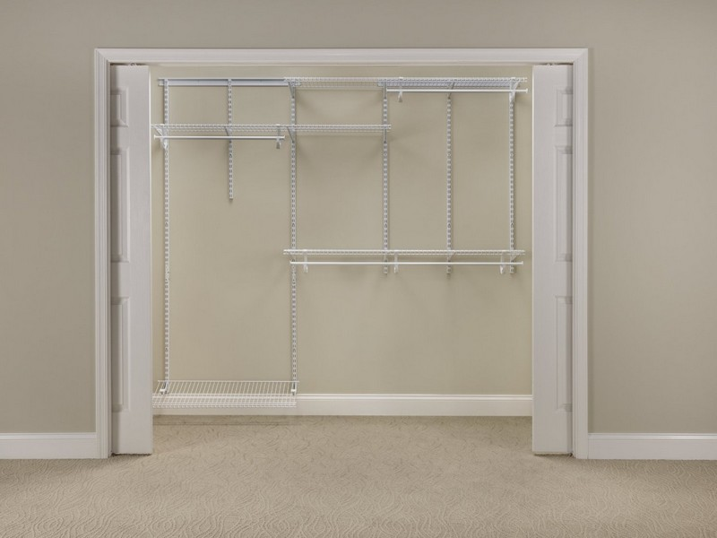 Adjustable Closet Shelving