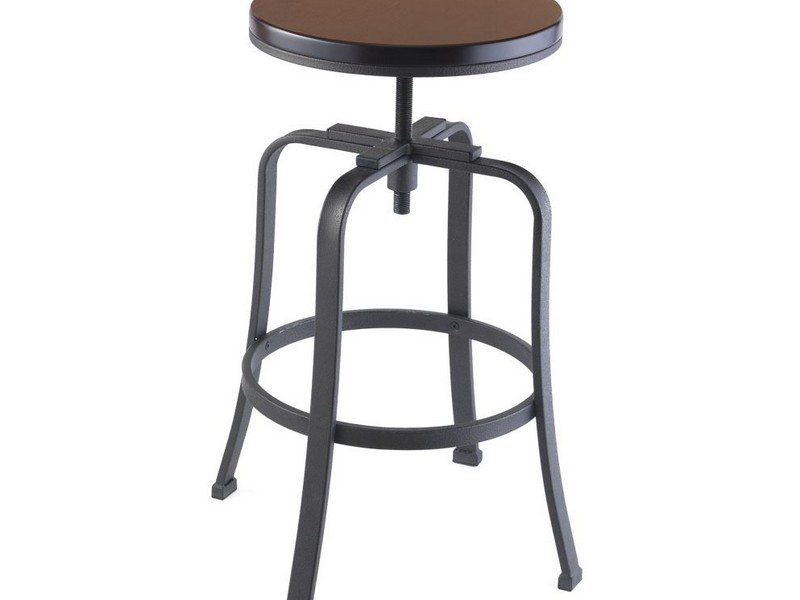 Adjustable Metal Bar Stools